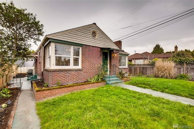 Seattle Single Family Home For Sale: 2357 NW 85th St