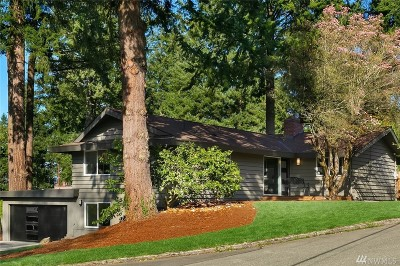 Bellevue Single Family Home For Sale: 252 168th Ave SE