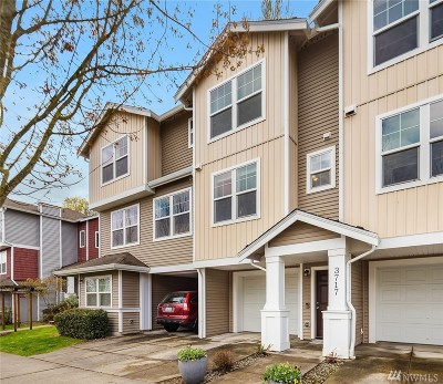 Seattle Single Family Home For Sale: 3717 S Holly Park Dr