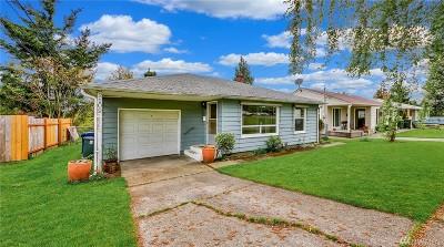 Tacoma Single Family Home For Sale: 2109 N Mason Ave