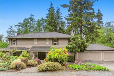 Bothell Single Family Home For Sale: 17603 8th Ave W
