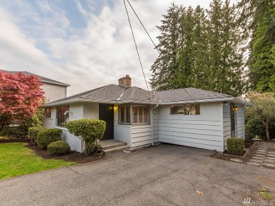 Seattle Single Family Home For Sale: 10624 Rustic Rd S