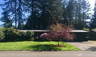 Olympia Single Family Home For Sale: 3817 15th Ct NE