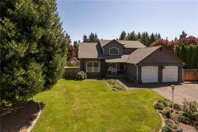 Puyallup Single Family Home For Sale: 9216 161st St E