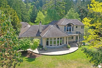 Bainbridge Island WA Single Family Home For Sale: $2,700,000