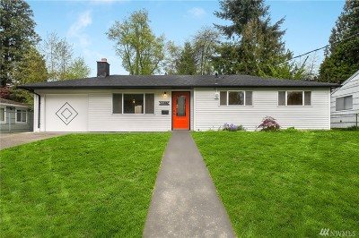 Seattle, Bellevue, Kenmore, Kirkland, Bothell Single Family Home For Sale: 8827 28th Ave SW