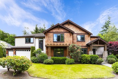 Mercer Island WA Single Family Home For Sale: $2,798,500