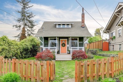 Tacoma Single Family Home For Sale: 4519 N Gove St