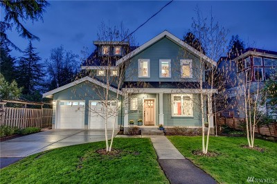 Seattle Single Family Home For Sale: 12526 Phinney Ave N
