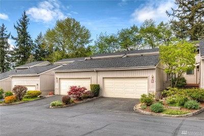 Federal Way Condo/Townhouse For Sale: 3306 SW 318th Place #72