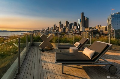 Seattle Condo/Townhouse For Sale: 590 1st Ave S #814