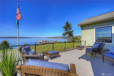 Steilacoom Single Family Home For Sale: 110 7th St