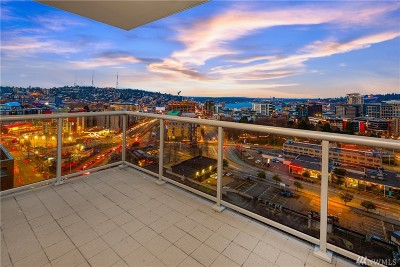 Seattle Condo/Townhouse For Sale: 588 Bell St #1402S