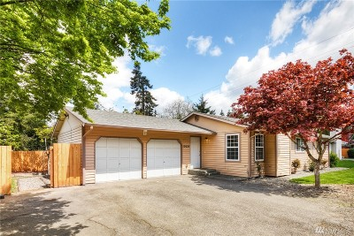 Kirkland Single Family Home For Sale: 10620 124th Ave NE