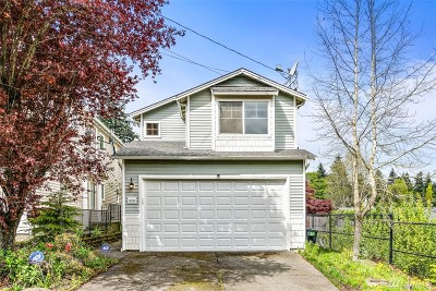 Seattle Single Family Home For Sale: 11549 62nd Ave S
