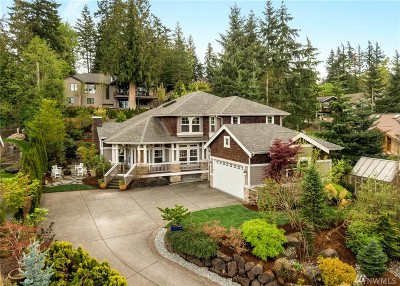 Sammamish Single Family Home For Sale: 202 210th Place NE
