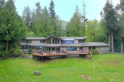 Port Ludlow Single Family Home For Sale: 54 Seven Sisters Rd