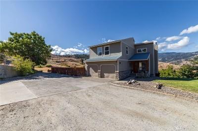 Wenatchee Single Family Home Contingent: 54 Moonlit Lane