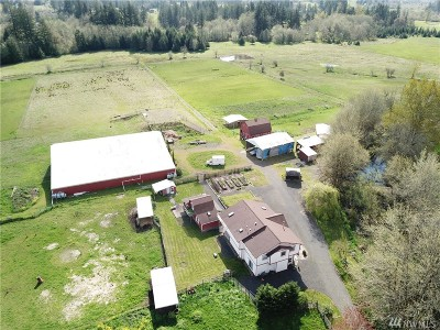 Chehalis Farm For Sale: 447 Boistfort Rd
