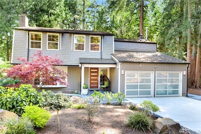 Sammamish Single Family Home For Sale: 3306 Sahalee Dr W