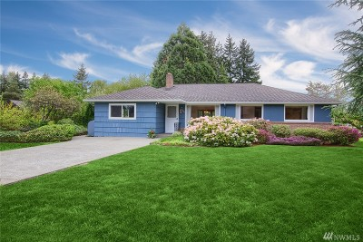 Single Family Home For Sale: 9817 40th Ave E