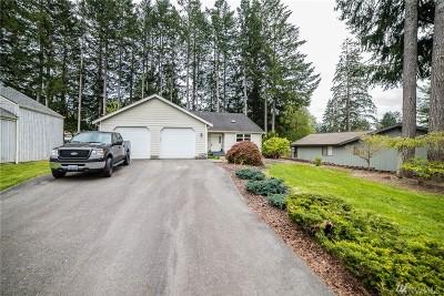 Mason County Single Family Home Pending Inspection: 411 E Country Club Dr