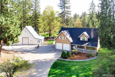 Duvall Single Family Home For Sale: 30929 NE Cherry Valley Rd