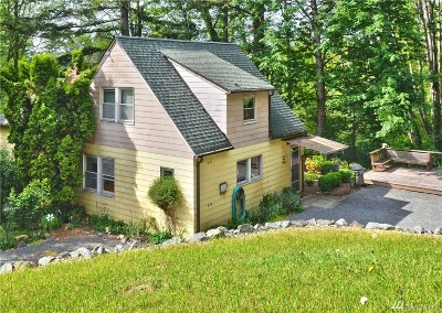 Bainbridge Island Single Family Home Pending: 7098 NE Bay Hill Rd
