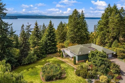 Single Family Home For Sale: 40977 Foulweather Bluff Rd NE