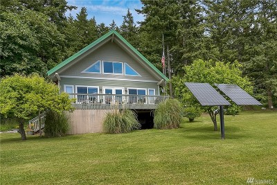 Bellingham Single Family Home For Sale: Eliza Island