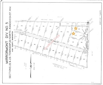 Issaquah Residential Lots & Land For Sale: 2504 SE 146th St