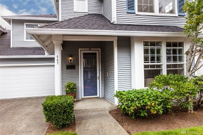 Sammamish Condo/Townhouse For Sale: 547 227th Ct NE #11