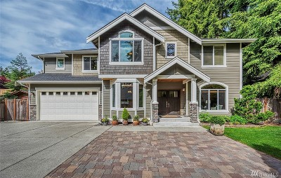 Woodinville Single Family Home For Sale: 18611 132nd Ave NE