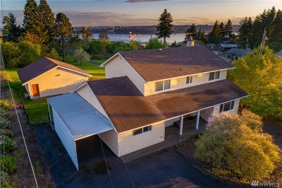 Tacoma Single Family Home Contingent: 4632 Browns Point Blvd
