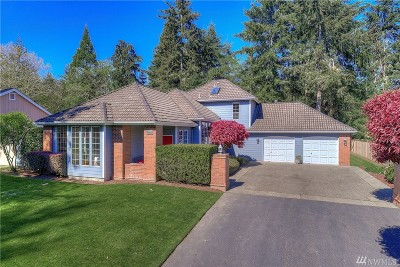 Gig Harbor Single Family Home For Sale: 11716 15th Ave NW