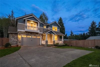 Renton Single Family Home Contingent: 14120 163rd Place SE