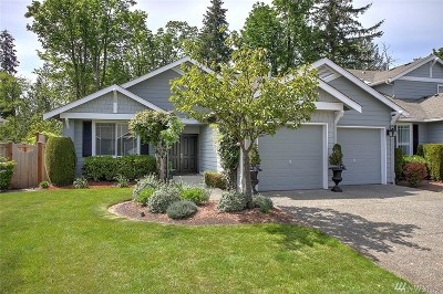 Sammamish Single Family Home For Sale: 469 243rd Place SE