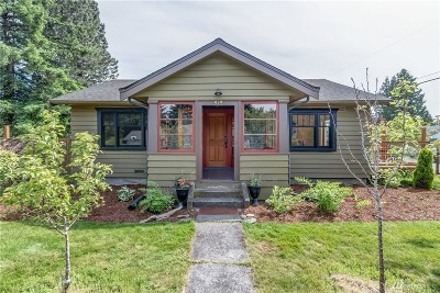 Bellingham Single Family Home For Sale: 915 W Indiana St