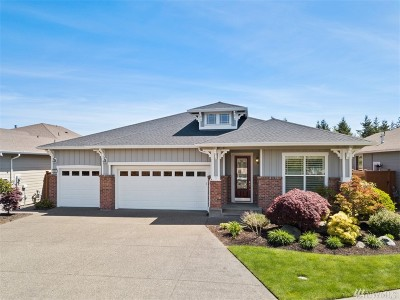 Lacey Single Family Home Pending: 4984 Spokane St NE