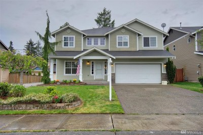 Puyallup Single Family Home For Sale: 16613 129th Av Ct E