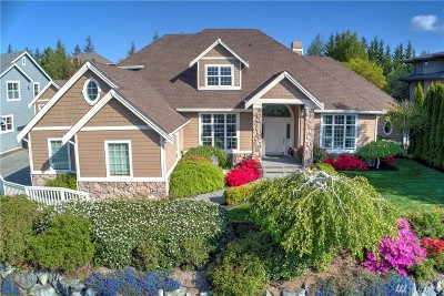 Snoqualmie Single Family Home Contingent: 7129 Saint Andrews Lane SE