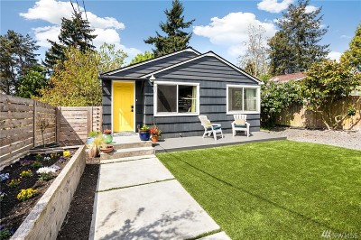 Seattle Single Family Home For Sale: 10025 Ashworth Ave N