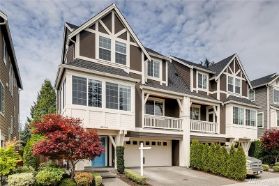 Redmond Condo/Townhouse For Sale: 12633 176th Place NE #B