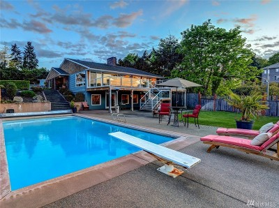 Pierce County Single Family Home Contingent: 4905 N Ferdinand St