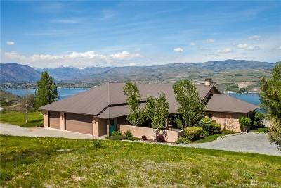 Chelan Single Family Home For Sale: 615 Hawks Meadow Rd