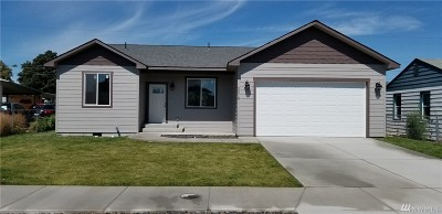 Moses Lake Single Family Home For Sale: 2218 W Spruce St