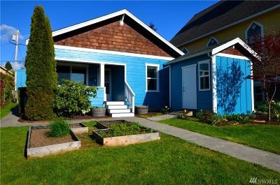 Whatcom County Single Family Home Pending: 1452 Franklin St
