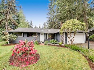 Woodinville Single Family Home For Sale: 13205 NE 193rd Place
