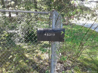 North Bend Residential Lots & Land For Sale: 45319 SE 140th St