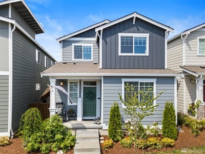 Puyallup Single Family Home For Sale: 11517 174th St E